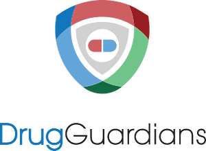 drug-guardians logo and typography